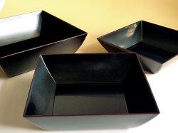 蓋付三段重ね鉢「かさね」